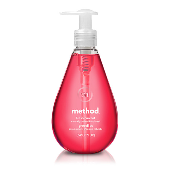 METHOD tekuté mýdlo Fresh Currant 350ml